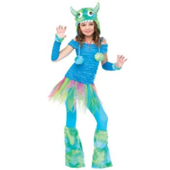 Blue Beasty Child Costume