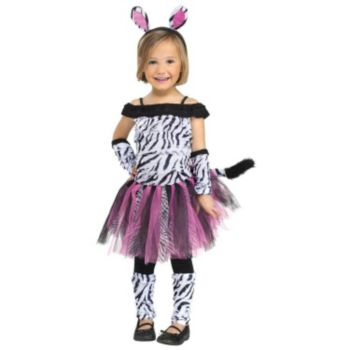 Zebra Toddler Costume