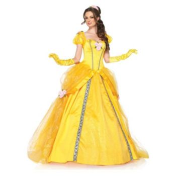 Deluxe Disney Princesses Enchanting Belle Adult Costume