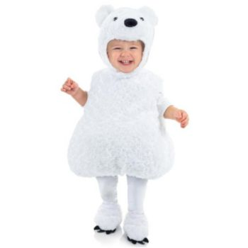 Polar Bear Toddler Child Costume