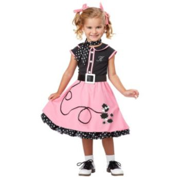 50s Poodle Cutie Toddler  Child Costume