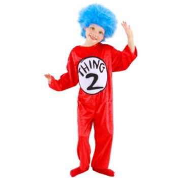 Dr. Suess Thing 1 and 2 ToddlerChild Costume