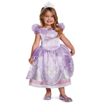 Disney Sofia the First Deluxe ToddlerChild Costume