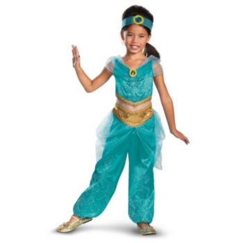Disney Jasmine Deluxe Sparkle ToddlerChild Costume