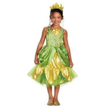Disney Tiana Deluxe Sparkle ToddlerChild Costume