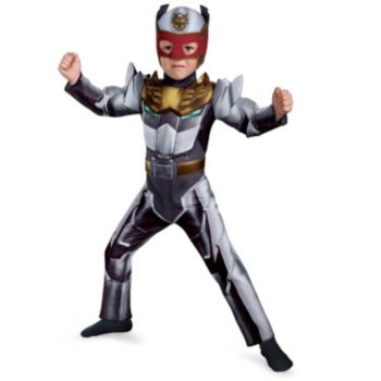 Robo Knight Power Ranger Megaforce Muscle Chest ToddlerChild Costume