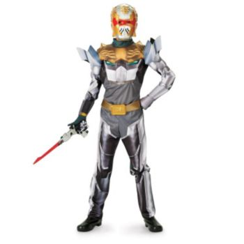 Robo Knight Power Ranger Megaforce Muscle Chest Child Costume