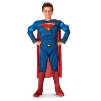 Superman-Man of Steel-Superman Deluxe ToddlerChild Costume