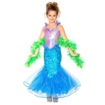 Mermaid ToddlerChild Costume