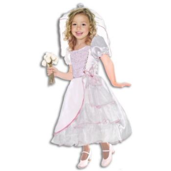 Bride ToddlerChild Costume