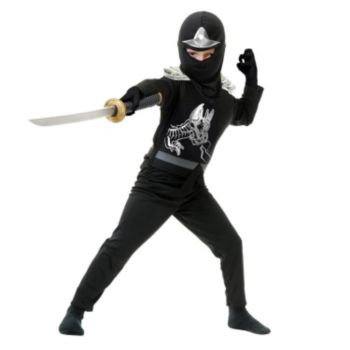 Black Ninja Avengers Series II ToddlerChild Costume