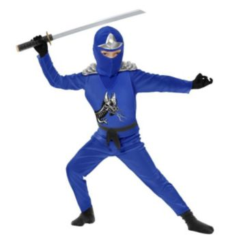 Blue Ninja Avengers Series II ToddlerChild Costume