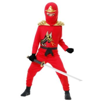 Red Ninja Avengers Series II ToddlerChild Costume