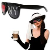 I Heart NY Novelty Sunglasses