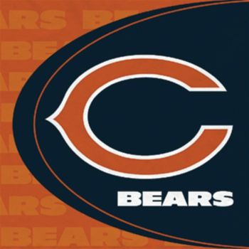 Chicago Bears Lunch Napkins, 16 pack
