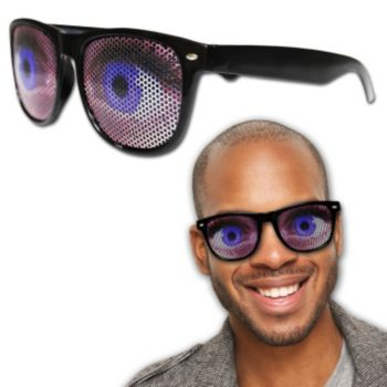Big Blue Eye Billboard Sunglasses
