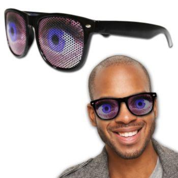 Big Blue Eye Billboard Sunglasses