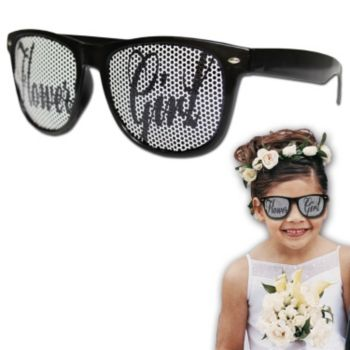 Flower Girl Billboard Sunglasses