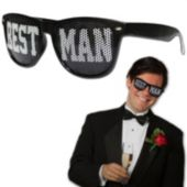 Best Man Party Sunglasses