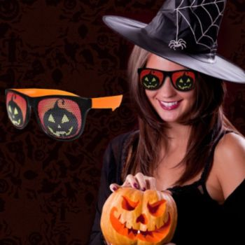 Pumpkin Billboard Sunglasses