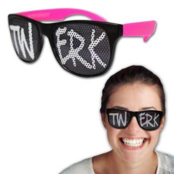 Neon Billlboard Twerk Sunglasses