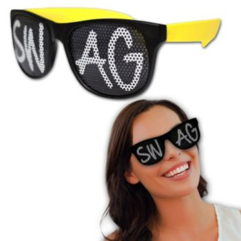 Neon Billboard Swag Sunglasses