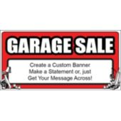 Garage Sale Custom Banner