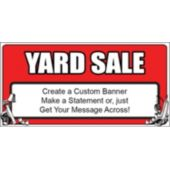 Yard Sale Custom Banner