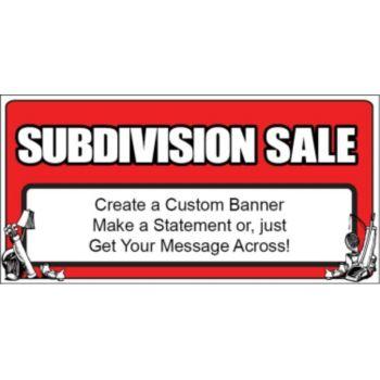 Subdivision Sale