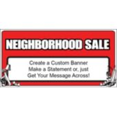Neighborhood Sale Custom Banner