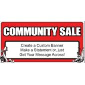 Community Sale Custom Banner