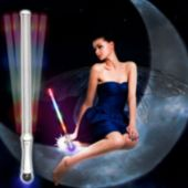 LED Strobe Glitter Wand