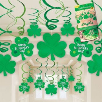 Happy St. Patrick's Day Swirls - 30 Pack