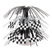 Checkered Flag Centerpiece-7 1/2""
