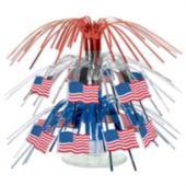 "American Flag Cascade Centerpiece-18"""