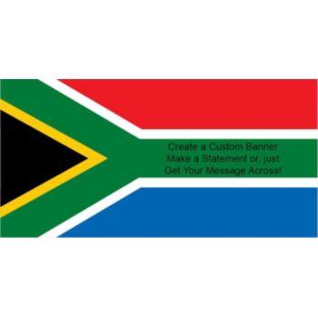 South African Flag Custom Banner