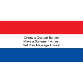 Netherlands Flag Custom Banner