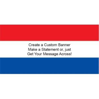 Netherlands Flag Custom Banner
