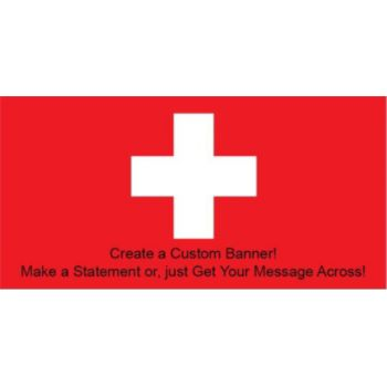 Swiss Flag Custom Banner