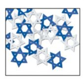 STAR OF DAVID  CONFETTI