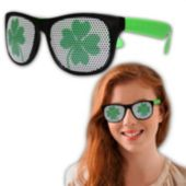 St. Patrick's Shamrock Party Sunglasses