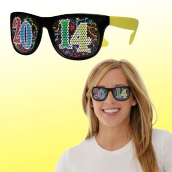 Neon Yellow 2014 Billboard Sunglasses