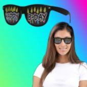 Happy Birthday Billboard Sunglasses