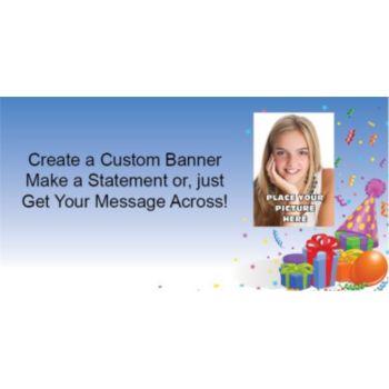 Birthday Fun Custom Photo Banner