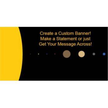 Solar System Custom Banner