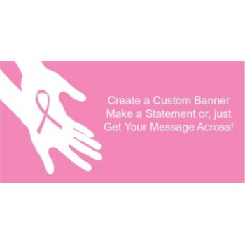 Breast Cancer Awareness Custom Banner
