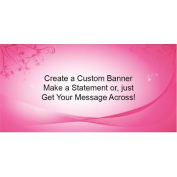 Think Pink Custom Banner