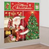 Merry Christmas Wall Decorating Kit