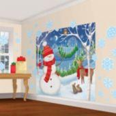 Winter Friends Wall Decorating Kit