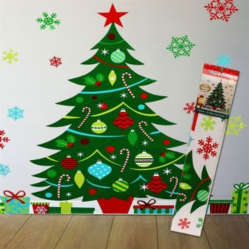 Whimsical Christmas Tree Scene Setter Kit